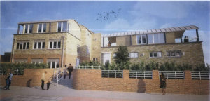Proposed building for corner of the Embankment and Water Lane. Image copyright © Twickenham Riverside Terrace Group