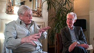 Video: Sir David Attenborough and Bamber Gascoigne talking about the River Centre